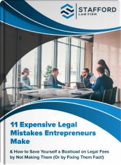 11 Entrepreneur Mistakes